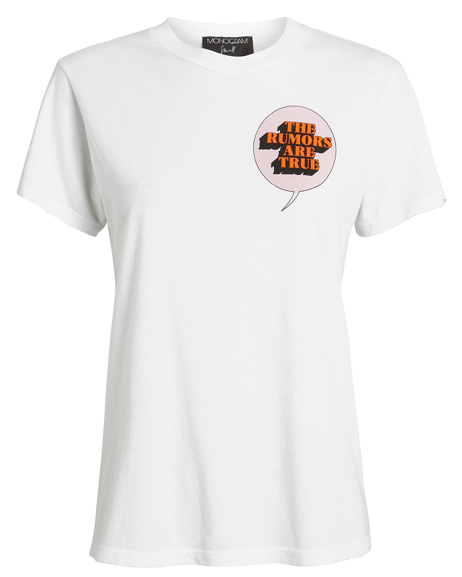 The Rumors Are True T-Shirt, WHITE, hi-res
