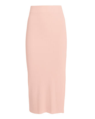 Melbourne Blush Midi Skirt, PINK, hi-res