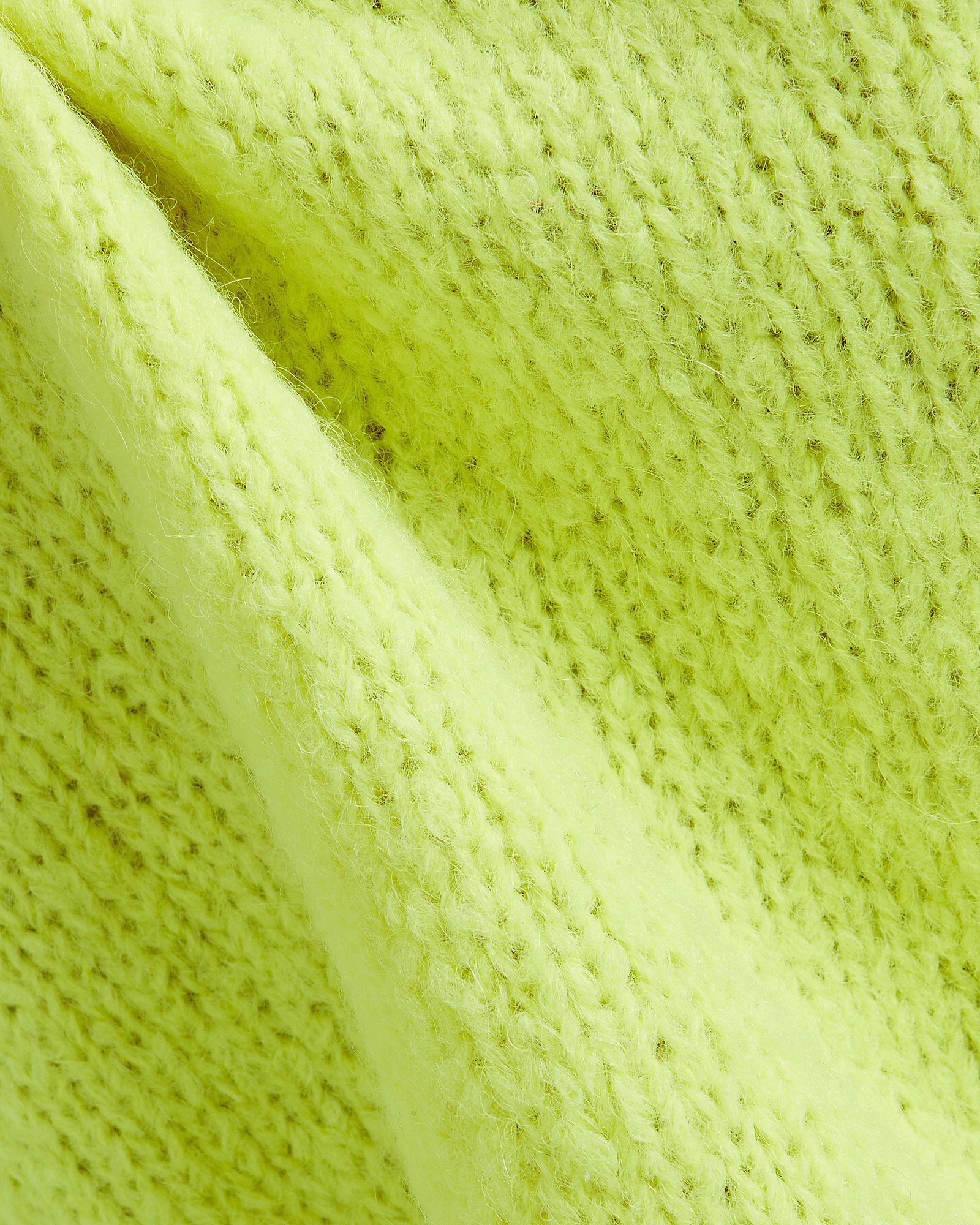 Cozette Cropped Alpaca & Wool Sweater, YELLOW, hi-res