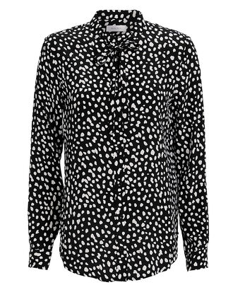 Holly Blouse, BLK/WHT, hi-res