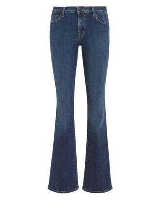 Sallie Mid-Rise Bootcut Jeans, DARK BLUE DENIM, hi-res