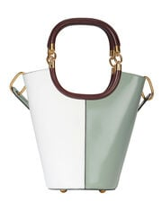 Maili Colorblock Medium Bucket Shoulder Bag, BLUE-LT, hi-res