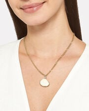 Drop It Like Its Hot Necklace, IVORY/GOLD, hi-res