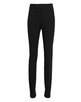 Black Slim Pants, BLACK, hi-res