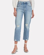 Tomcat Distressed Cropped Jeans, The Confession, hi-res
