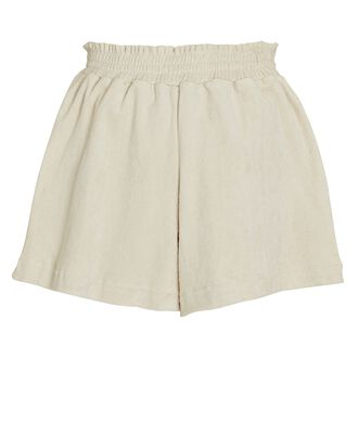 Reggie French Terry Shorts, BEIGE, hi-res