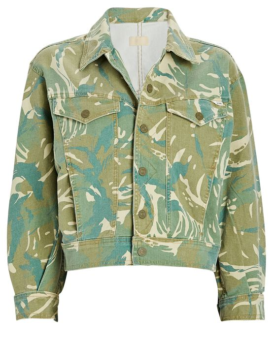 Mother Denims The Fly Away Camouflage Jacket