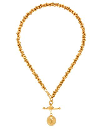 L'Aura, chapter i Choker Necklace, GOLD, hi-res
