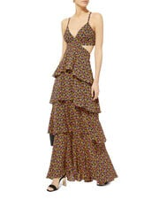 Titus Marigold Cutout Dress, MULTI, hi-res