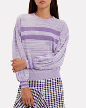 Cilvie Lurex Sweater, PURPLE-LT, hi-res