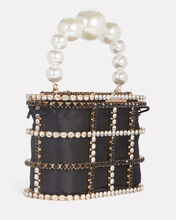 Holli Cage Pearl and Crystal Clutch, , hi-res