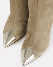 Lapee Suede Ankle Boots, BEIGE, hi-res