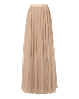 Tulle Maxi Skirt, PINK, hi-res