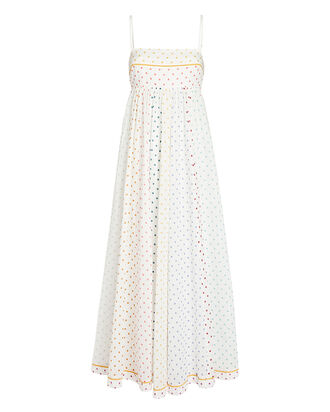 Bellitude Bandeau Polka Dot Dress, IVORY/POLKA DOT, hi-res