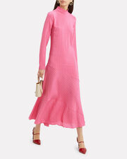 Lynch Seersucker Maxi Dress, PINK, hi-res