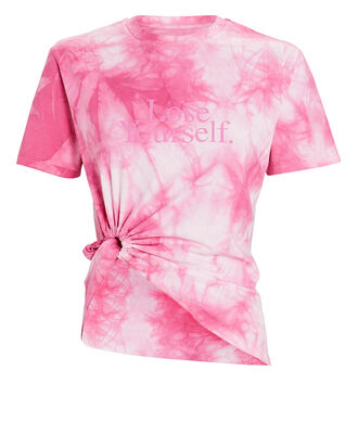 Lose Yourself Tie-Dyed T-Shirt, PINK, hi-res