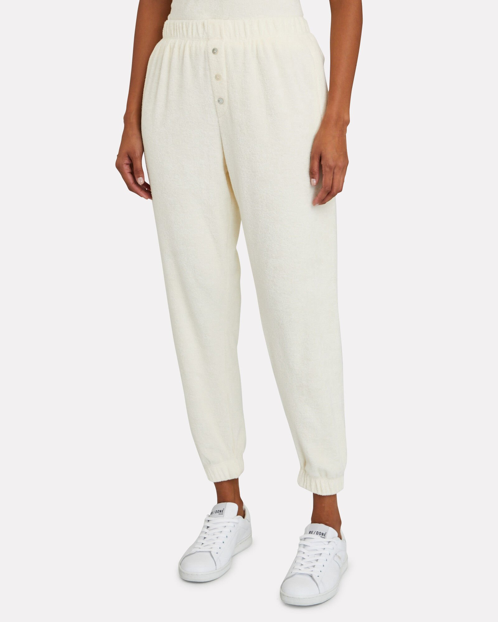 Terry Henley Joggers, IVORY, hi-res