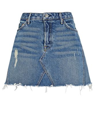Eva Denim Mini Skirt, Walk This Way, hi-res