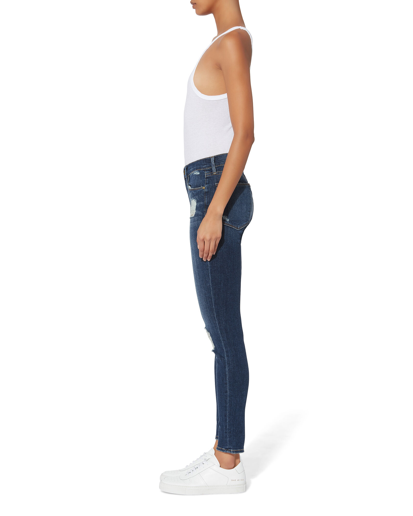 Le Skinny Hilltop Jeans, MEDIUM WASH DENIM, hi-res