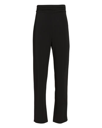 Cady Cigarette Pants, BLACK, hi-res