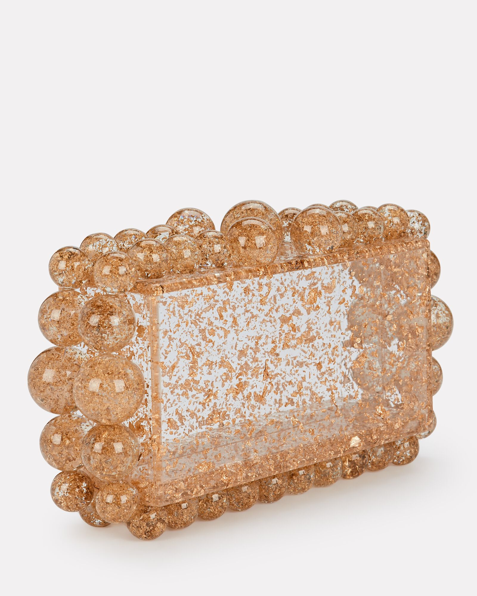 Eos Box Clutch, GOLD, hi-res