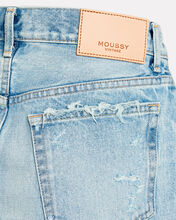 Wellington Denim Mini Skirt, LIGHT WASH DENIM, hi-res