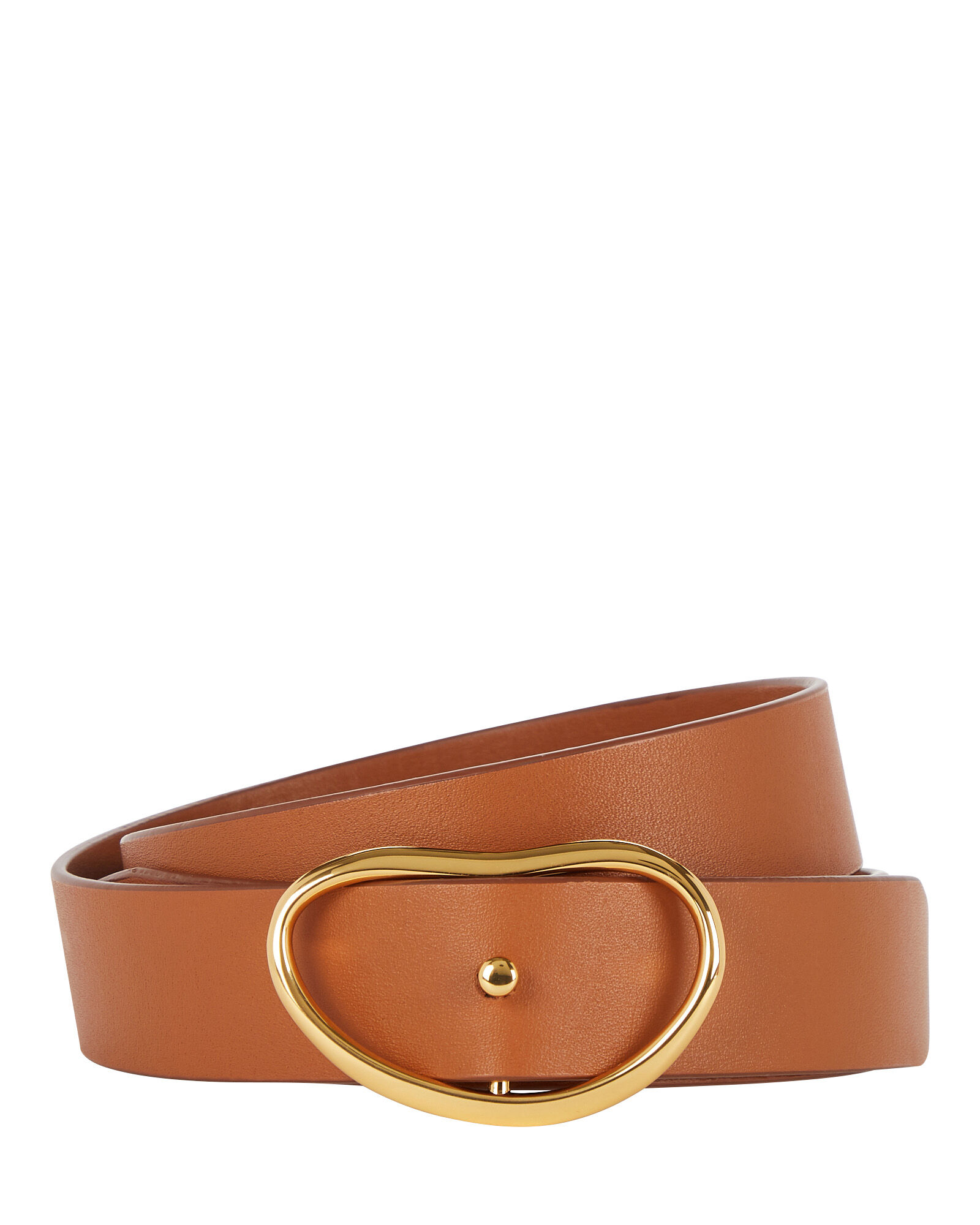 Georgia Wide Leather Belt, BEIGE, hi-res