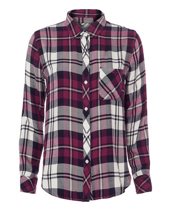 Hunter Plaid Lychee Top, MULTI, hi-res