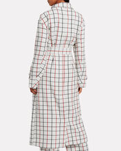 Hamburg Checked Trench Coat, IVORY/CHECK, hi-res