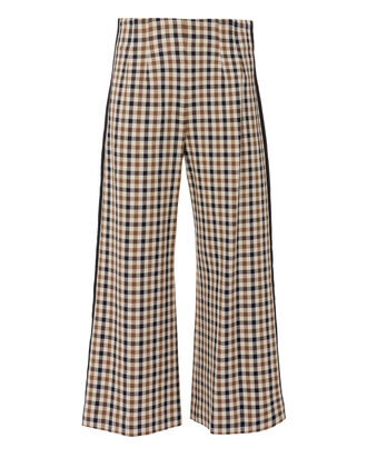 Laya Gaucho Pants, BROWN, hi-res