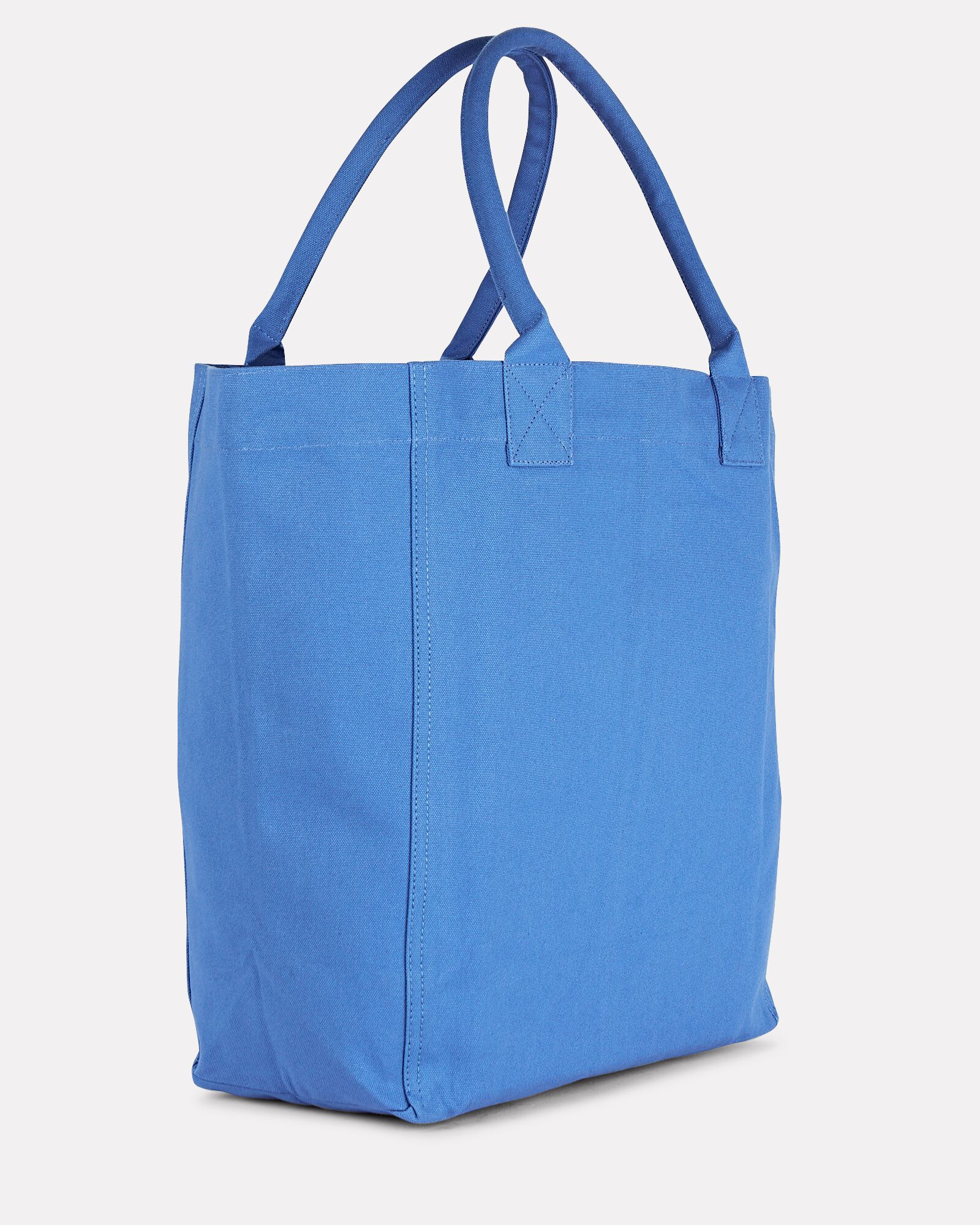 Yenky Logo Canvas Tote Bag, BLUE, hi-res