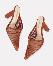 Raya Woven Leather Mules, BROWN, hi-res