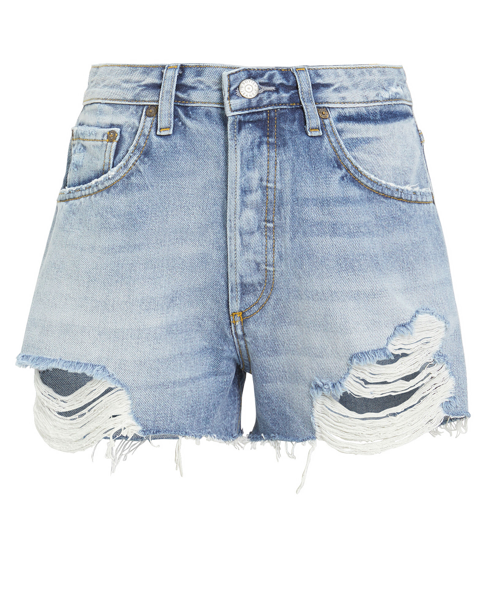 The Cody Distressed Denim Shorts, DENIM-LT, hi-res