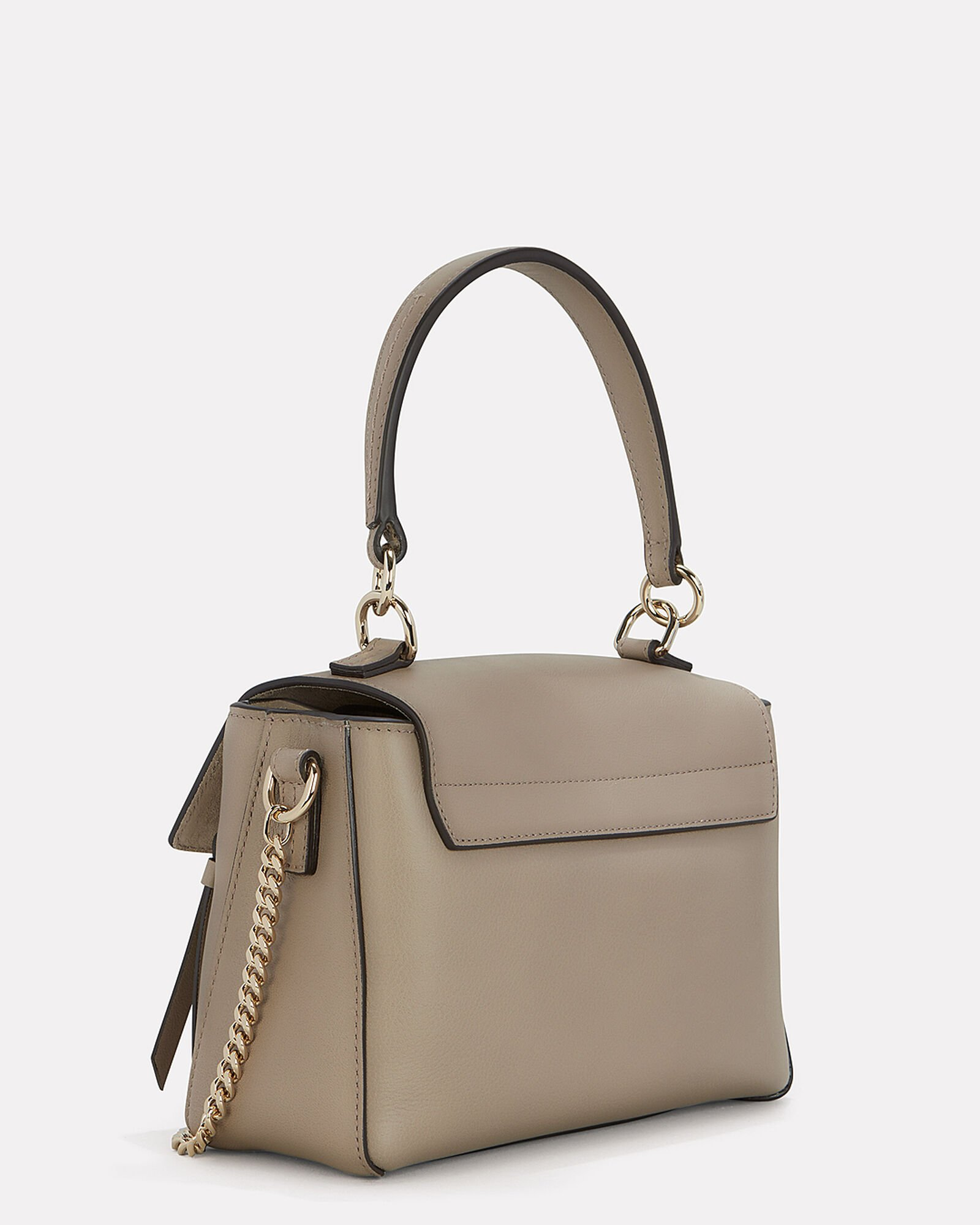 Faye Mini Shoulder Bag Grey