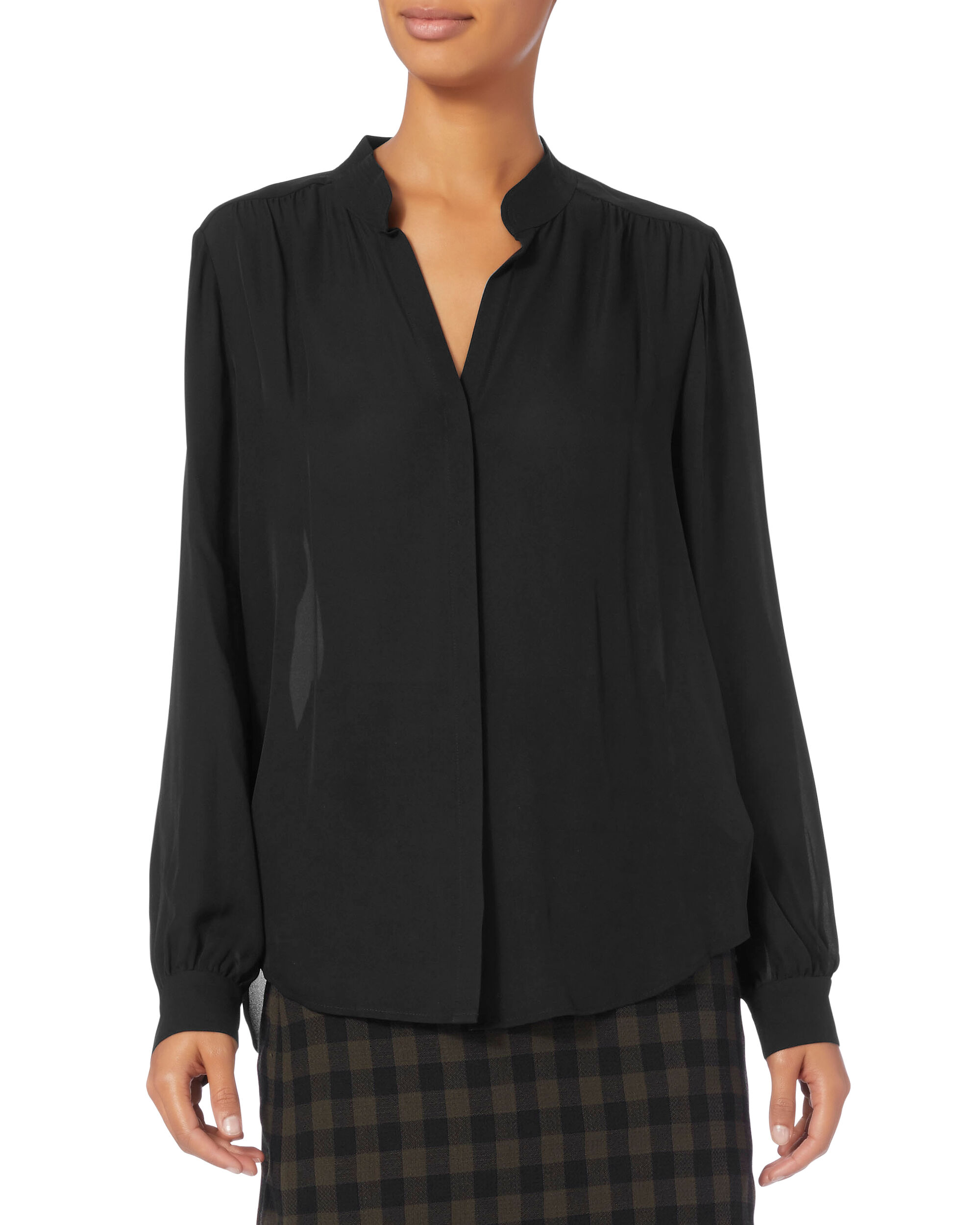 Bianca Blouse, BLACK, hi-res