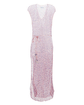 Aphrodite Spider Pink Cover-Up Dress, PINK, hi-res