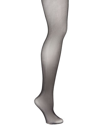 Sheer Control-Top Tights, BLACK, hi-res