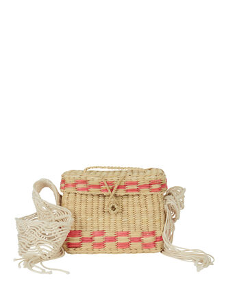 Roge Small Shoulder Bag, BEIGE, hi-res