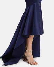 Kerama Strapless High Low Navy Gown, NAVY, hi-res