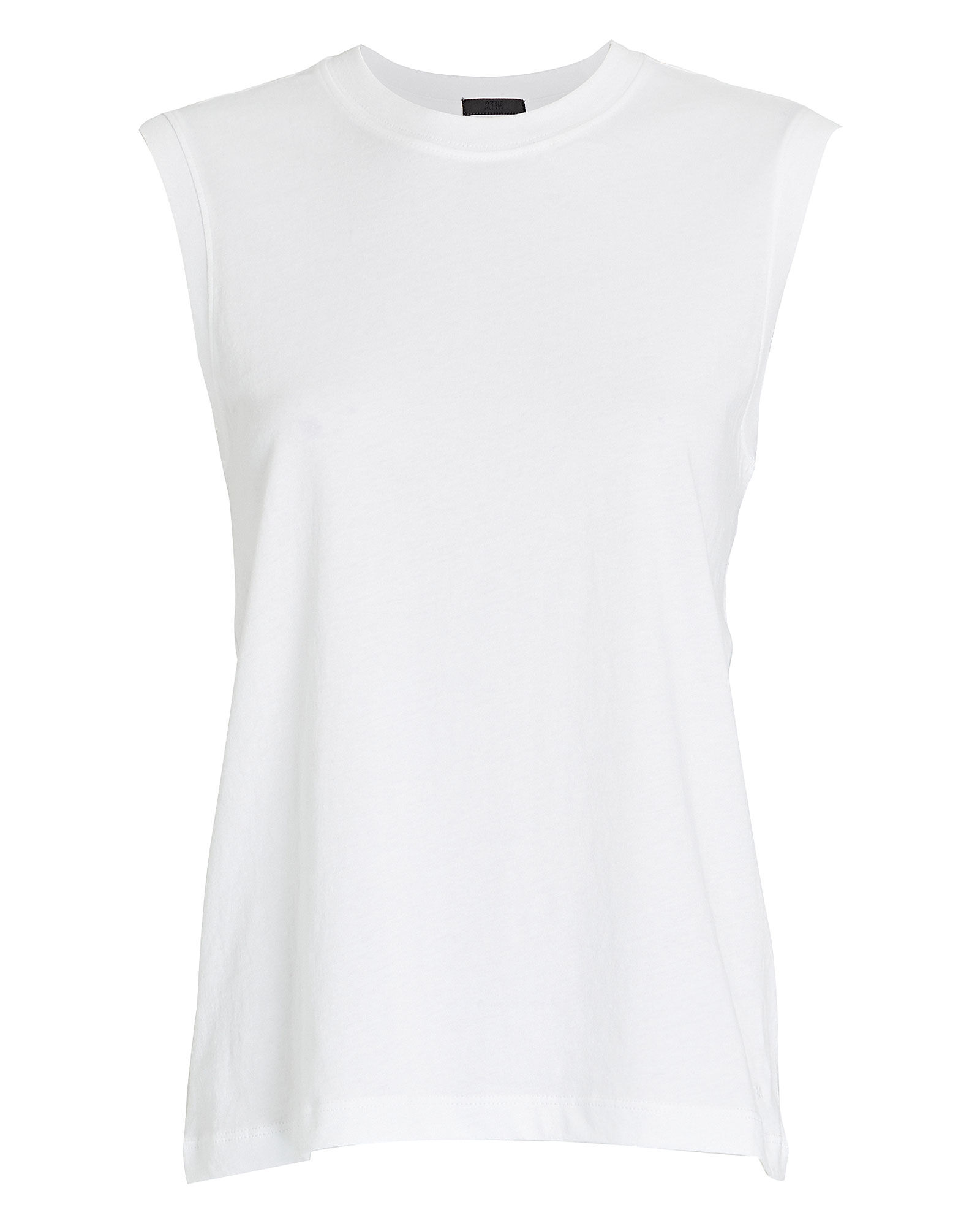 Classic Jersey Muscle Tank Top, WHITE, hi-res