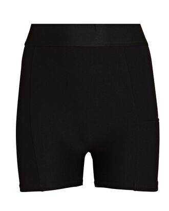 Beacon Biker Shorts, BLACK, hi-res