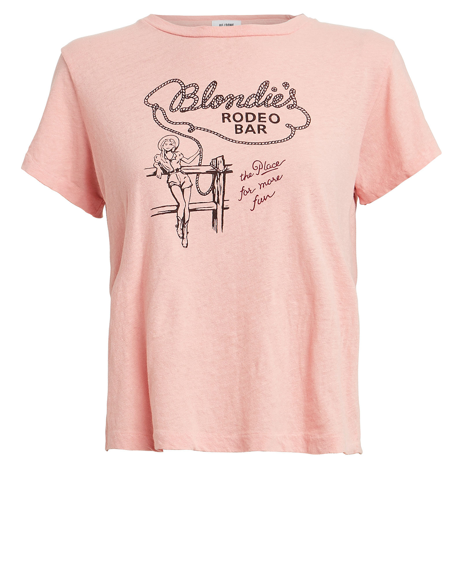 Blondie's Rodeo Bar Classic T-Shirt, PINK, hi-res