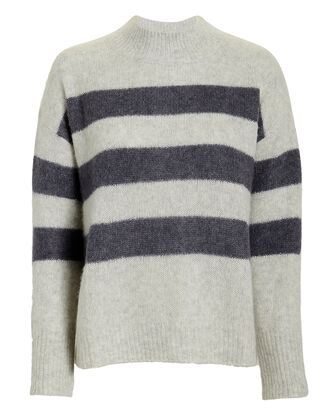 Elise Mist Indigo Sweater, GREY/BLUE, hi-res