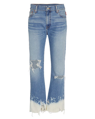 Joni Cropped Dip Dyed Jeans, LIGHT WASH DENIM, hi-res