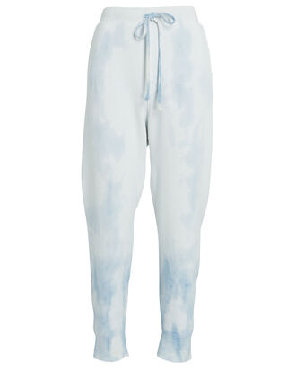 Nolan Cotton Terry Joggers, WHITE/BLUE, hi-res