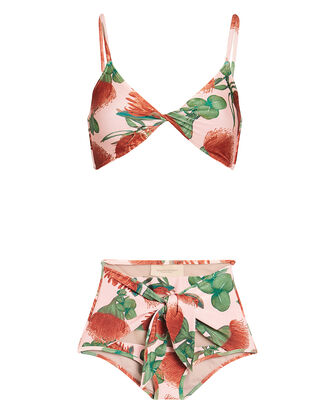 Fiore High-Rise Bikini Set, ROSE/GREEN, hi-res