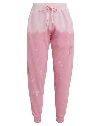 The BHH Acid Wash Joggers, PINK, hi-res