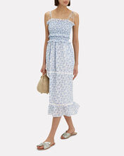 Luna Midi Dress, WHITE, hi-res