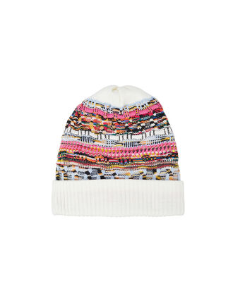 Multicolored Knit Hat, MULTI, hi-res