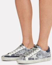 Superstar Bandana Low-Top Sneakers, BLUE, hi-res